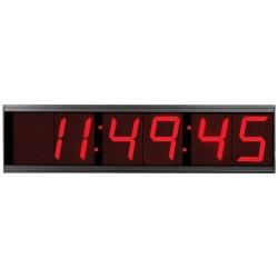 American Time & Signal - Dsa461rsa-web - Clock Digital Stand Alone 4 6 Digit Red Surface 120v 60hz Molex