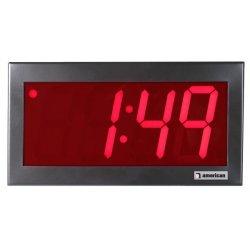 American Time & Signal - Dsy441rsa3-web - Clock Digital System 4 4 Digit 120v Hw W/molex 3w Sync