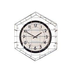 American Time & Signal - E56basd304bp-web - Clock Smooth Sweep Quartz 12 Round/surface Black Ch 4 4 Pack Bp