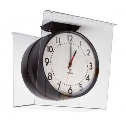 American Time & Signal - G3020dd-web - Guard Polycarbonate Double Dial 15h X 9 1/2w X 16d