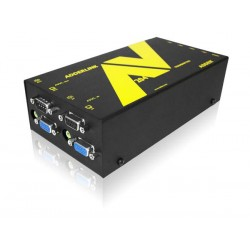 Adder - ALAV204T - 1x4 VGA Extender transmitter with serial ovet CAT5 up to 1000ft