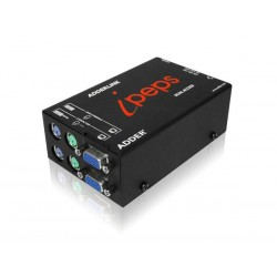Adder - AL-IPEPS-DA - AdderLink iPEPS Dual Access - IP KVM with Real VNC. VGA and PS-2 or USB connections. Features local control, supports virtual media.