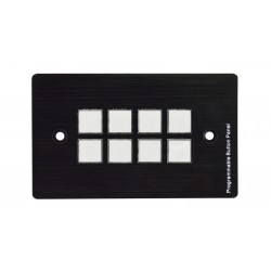A-NeuVideo - ANI-8BWP - 8 Button Programmable Wall Control Panel