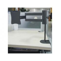 Atlona - LCDT-1B - Atlona Lcd Monitor Table ( Desk ) Mount ( Black )