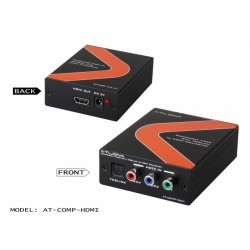 Atlona - COMPHDMI - Component Video with Optical to HDMI Converter