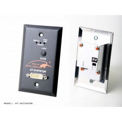 Atlona - DVIFW10R - Wall Plate Style DVI Receiver over single Multi Mode Fiber with HDCP and EDID Support