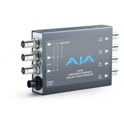 AJA Video Systems - D10AD - Component/Composite/S-video to SDI Converter + 4 SDI Outputs(NTSC/PAL)