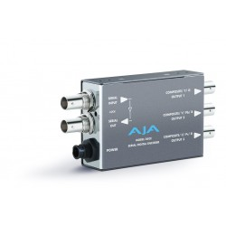 AJA Video Systems - D5CE - SDI to Component or Composite Converter Re-Clocked Loop-Thru SDI Output