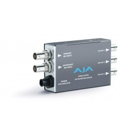 AJA Video Systems - D5PSW - Dual SDI input protection switch/ 3 SDI outputs/ Multi color LED stats