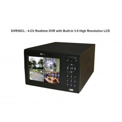 IC Realtime - DVR56CL/500 - 4Ch H.264E Cube DVR with 5.6 LCD & 500GB HD
