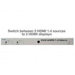Gefen - EXT-HDMI1.4-242 - 2x2 HDMI 1.4 Matrix Switch