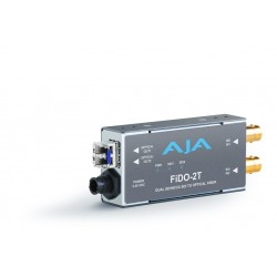 AJA Video Systems - FIDO-2T - Dual channel SDI to LC Fiber extender up to 10km