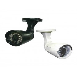 IC Realtime - ICR611WDR - 600TVL 1/3in High Res Low Light CCD Bullet Camera Black