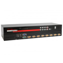 Hall Research - KVM-U8 - 8 Port VGA USB KVM Switch