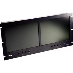 TV One - LM-1042R - Dual 10.4in Color LCD Multimedia Monitor Rackmountable