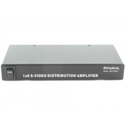 Shinybow - SB-3706SV - 1x8 S-Video Distribution Amplifier