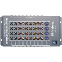 Shinybow - SB-3750 - 1:5 Shinybow Component/composite/s-video/audio Amplifier Splitter