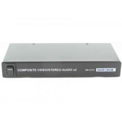 Shinybow - SB-3772 - 1x2 AV Distribution Amplifier