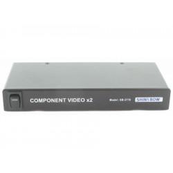 Shinybow - SB-3776 RCA - 1x2 Component Video(RCA) Splitter