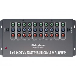 Shinybow - SB-3780 - 1:9 Shinybow Component Video Distribution Amplifier