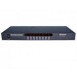 Shinybow - SB-5548 - Shinybow 8x8 Composite Video ? Audio Matrix Switcher - 1920 x 1080 - Full HD - 1080i8 x 8Composite Video In - Composite Video Out
