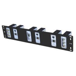 Shinybow - SB-6066 - CAT5 Rack Mount Panel for Extenders