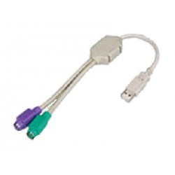 Hall Research - USB-2PS2 - USB to 2 PS/2 (KM) adapter