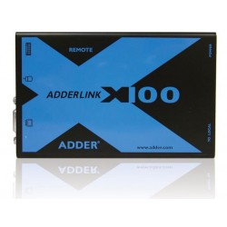 Adder - X100A-PS2/P - KVM and optional audio extender for PS/2 and USB computers