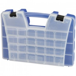 Akro-Mils / Myers Industries - 06115AM - Akro-Mils Portable Storage Organizer, 46 Compartments, 15L x 3 1/4H x 11 5/6W