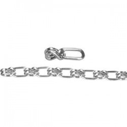 Apex Tool - 0740234CT - Campbell Lock Link Single Loop Chain, #2, Sheared