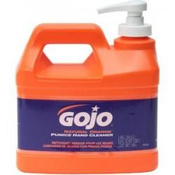 Gojo - 095504GJ - Gojo Natural* Orange Pumice Hand Cleaner, 1 gal Pump Bottle, 4/Case