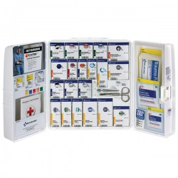 First Aid Only - 1000FAE0103AC - 50-Person SmartCompliance Standard Business First Aid Kit w/ Medications, Plastic