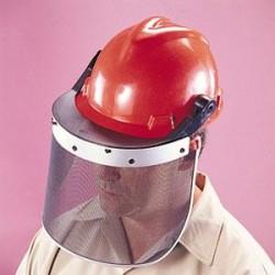 MSA - 10017934MSA - MSA Defender+ Face Shield, Polycarbonate Flat, Clear, 15 1/2 x 8 x 0.040