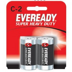 Energizer - 1235EN - Eveready Super Heavy Duty C Batteries, 12/Pkg