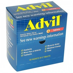 First Aid Only - 15000AC - Advil, 2 Pkg/50 ea