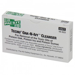 First Aid Only - 18022AC - Tecnu Oak-N-Ivy Outdoor Skin Cleanser, 2/Box
