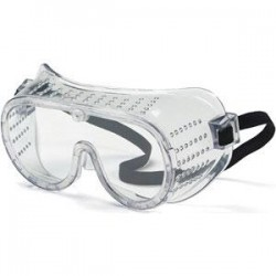 MCR Safety - 2220C - MCR Safety Protective Goggles, Perforated, Elastic Strap