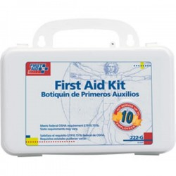 First Aid Only - 222GAC - 10-Person Bulk First Aid Kit w/ Gasket