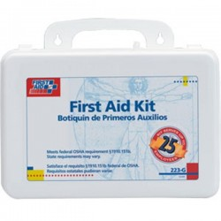 First Aid Only - 223GAC - 25-Person Bulk First Aid Kit w/ Gasket