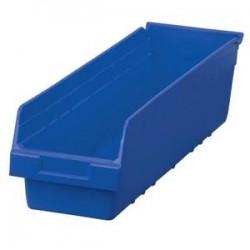 Akro-Mils / Myers Industries - 30084BLUEAM - Akro-Mils ShelfMax Bin, 23 5/8L x 6H x 8 3/8W, Blue