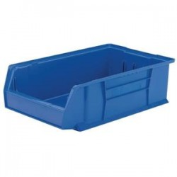 Akro-Mils / Myers Industries - 30280YELLOAM - Akro-Mils AkroBins Super-Size Storage Bin, 20L x 6H x 12 3/8W, Yellow