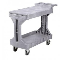 Akro-Mils / Myers Industries - 30930GREYAM - Akro-Mils Procart Utility Cart, Small, 41 1/2L x 34 3/4H x 19W