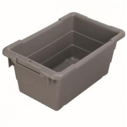 Akro-Mils / Myers Industries - 34304AM - Akro-Mils Akro-Tub Cross-Stack Container, 23 3/4L x 12H x 17 1/4W