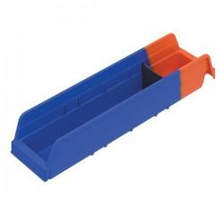 Akro-Mils / Myers Industries - 36448BLUEAM - Akro-Mils Indicator Storage Bin, 17 7/8L x 4H x 4 1/4W, Blue