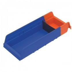 Akro-Mils / Myers Industries - 36468BLUEAM - Akro-Mils Indicator Storage Bin, 17 7/8L x 4H x 6 5/8W, Blue
