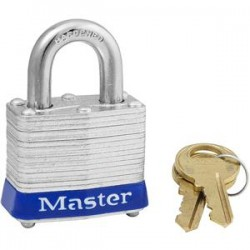 Master Lock - 3REDML - Laminated Steel Safety Padlock