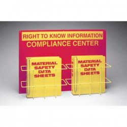 Brady - 42205BY - Double Right To Know Compliance Center