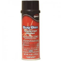 QuestVapco - 435001QC - QuestSpecialty Bug Ban Insect Repellent, 6 oz Aerosol