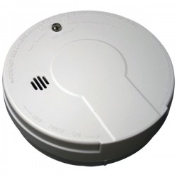 Kidde Fire and Safety - 440374 - Kidde Fire Smoke Alarm - 85 dB - Flashing LED - Security Alarm - White