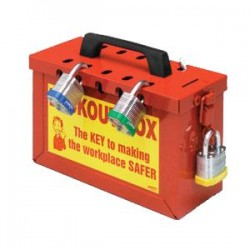 Brady - 45580BY - Brady Prinzing Group Lockout Box
